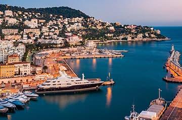 Navette VTC avec Port Lympia
