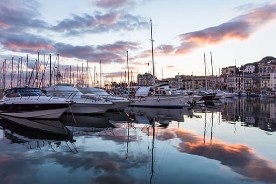 Transfert entre Nice et Cannes