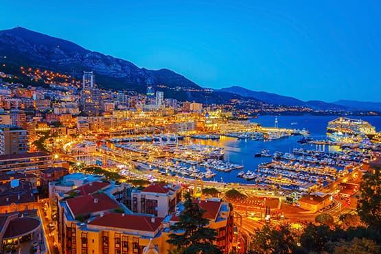 Vous rendre avec chauffeur à Monaco